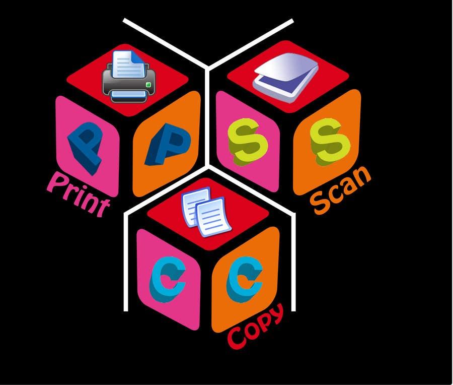 Kilpailutyö #111 kilpailussa Design a Logo for Print Copy Scan