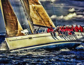 #64 untuk Retouch a sailing image to add more drama oleh Crions