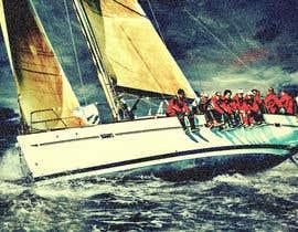 #88 untuk Retouch a sailing image to add more drama oleh SohamJoy