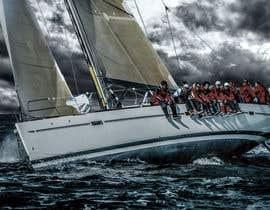 #93 untuk Retouch a sailing image to add more drama oleh stephmuscelli