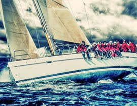 #135 untuk Retouch a sailing image to add more drama oleh stephmuscelli