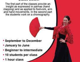 brissiaboyd tarafından Create an ad for a Flamenco Dance School için no 5