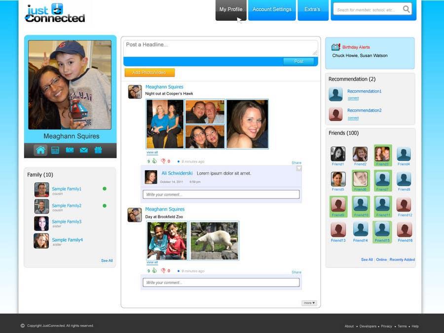 Inscrição nº 15 do Concurso para Graphic Design for Home Page for Website