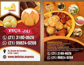 #6 untuk Flyer for Food (Brazilian Snacks) Delivery oleh teAmGrafic