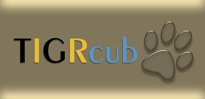 #2 untuk Create a Logo for TIGRcub oleh minalutovac