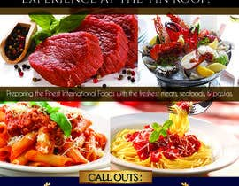 #1 untuk Design an Advertisement Fine Dining Restaurant oleh vyncadq