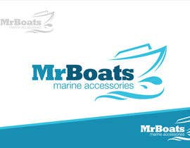 #94 para Logo Design for mr boats marine accessories de Grupof5