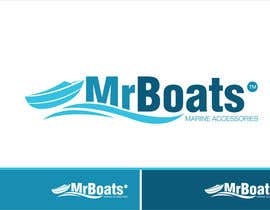 #95 para Logo Design for mr boats marine accessories de Grupof5