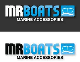 #60 cho Logo Design for mr boats marine accessories bởi AlexYorkDesigns