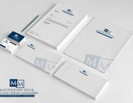 #66 untuk Develop a Corporate Identity for a notary office oleh taganherbord
