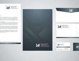 #83 untuk Develop a Corporate Identity for a notary office oleh ichtiyar