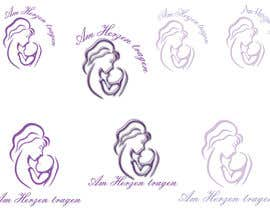 #10 untuk Design eines Logos for AM HERZEN TRAGEN oleh wildcherry023
