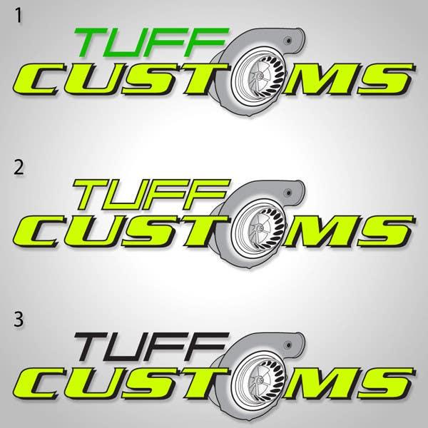 Contest Entry #                                        28                                      for                                         Logo Design for Tuff Customs