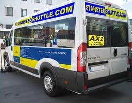 #9 untuk Airport Shuttle minibus graphics oleh bielonog
