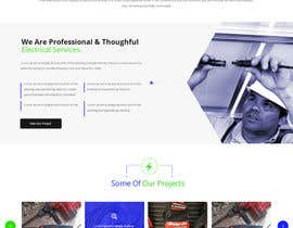 #23 untuk Build a new website for replacing my existing website for an electrician oleh zaxsol