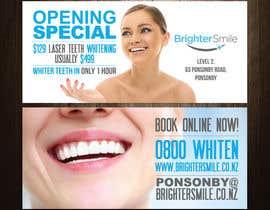 teAmGrafic tarafından Design a Flyer for a teeth whitening clinic! için no 93