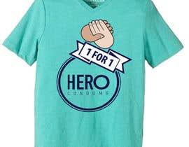 oronnotextile tarafından Create HERO condoms T-shirt- Botswana donation trip. için no 32