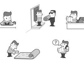 #6 untuk Alter some Images - Cartoon Illustrations for our customers step by step guide oleh diego365