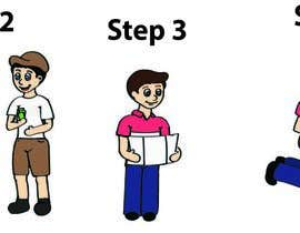 #4 untuk Alter some Images - Cartoon Illustrations for our customers step by step guide oleh giselarodrigues