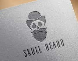 #21 untuk Skull Beard logo oleh vadimcarazan