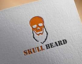 #41 untuk Skull Beard logo oleh KnowledgeShine