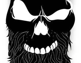 #44 untuk Skull Beard logo oleh urujchandio