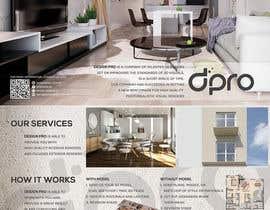 #22 untuk Design of a A5 double side brochure oleh r35hin