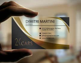 #23 for Design some Business Cards for a Barber by atikul4you