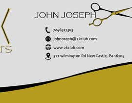 #13 untuk Design some Business Cards for a Barber oleh Creativeapes1