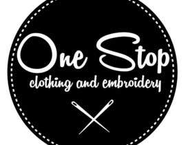 #4 para Design a Logo for Onestop Clothing & Embroidery por cha5e