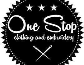 #6 para Design a Logo for Onestop Clothing & Embroidery por cha5e