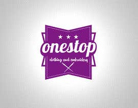 #7 para Design a Logo for Onestop Clothing & Embroidery por cha5e