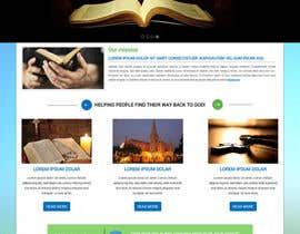 rupam1989 tarafından Homepage Mockup for Church Website (Wordpress) için no 11