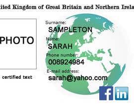 #1 untuk Passport Design oleh pandorasher