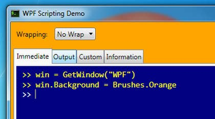 #2 untuk WPF 'shell' for several applicatoins oleh kashifstudio