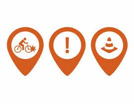 #55 untuk Design some safety icons for a map on our website oleh stojicicsrdjan