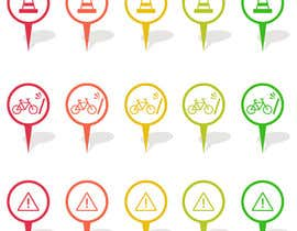 superock tarafından Design some safety icons for a map on our website için no 10