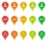Graphic Design Entri Peraduan #29 for Design some safety icons for a map on our website