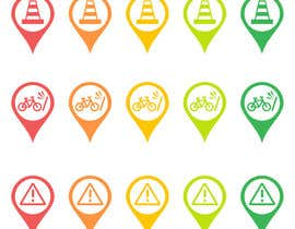 #30 untuk Design some safety icons for a map on our website oleh superock