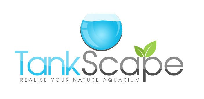 #73 for Logo design for Tankscape (Nature Aquarium Store) by SheryVejdani