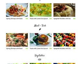 #15 untuk Design order page for food delivery website oleh zaxsol