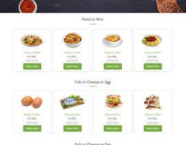 #14 untuk Design order page for food delivery website oleh syrwebdevelopmen