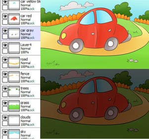 #24 for Children Puzzle App Test illustration by dikka