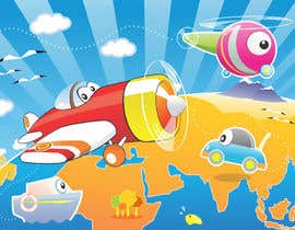 nº 28 pour Children Puzzle App Test illustration par marumalu
