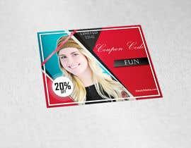 #27 untuk Design a 20% OFF coupon oleh blackjacob009