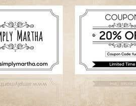 #21 untuk Design a 20% OFF coupon oleh gkhaus