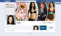 Contest Entry #17 for Design a Facebook landing page for whywomen.nl