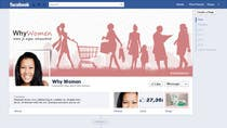 Contest Entry #11 for Design a Facebook landing page for whywomen.nl