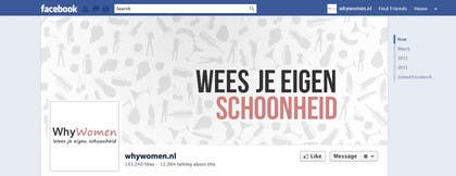 #27 for Design a Facebook landing page for whywomen.nl by jakuart