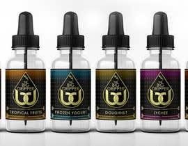 #11 untuk Design Our Label for an eLiquid Brand oleh vickysmart